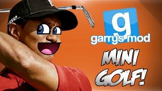 GMod Tower Mini Golf! - Wildcats Life Story, ITSYABOI, Tiger Woods & More! (Funny Moments)