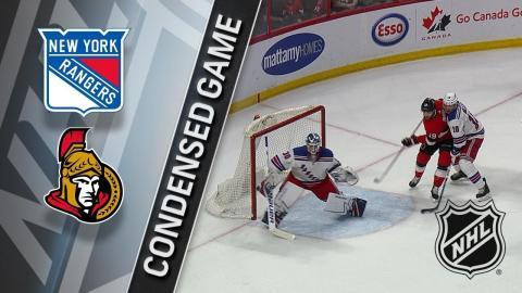 02/17/18 Condensed Game: Rangers @ Senators