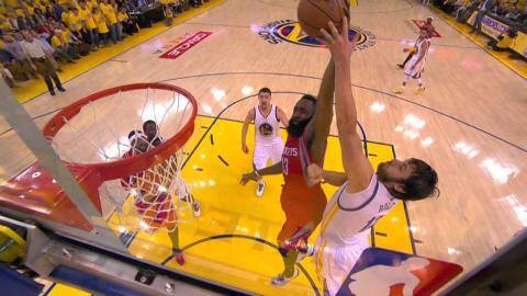 No Stopping Harden's Strong Drive to the Rack