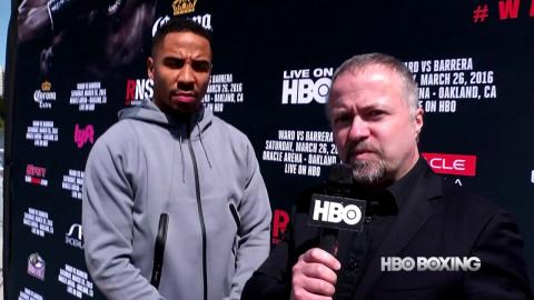 HBO Boxing News: Andre Ward Interview