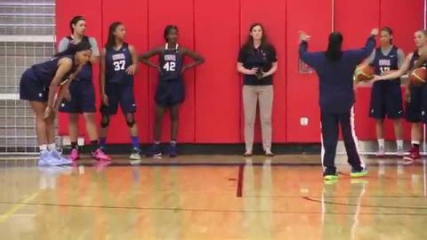 Dawn Staley Reacts To 2015 USA Women's U19 Roster Announcement