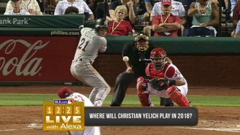 12:25 Live - Possible landing spots for Yelich