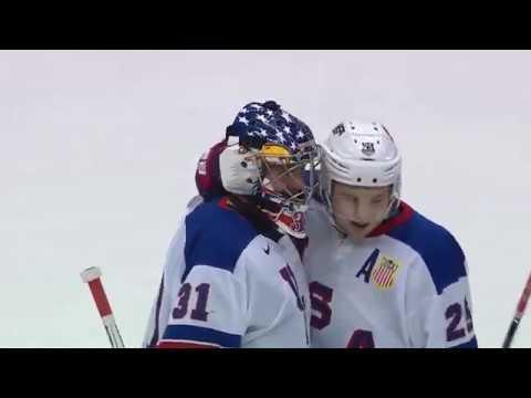 2017 WJC   Highlights   USA Tops Canada, 3-1
