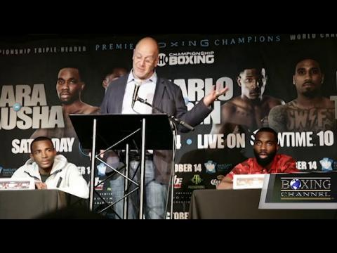 BARCLAYS CENTER PRESS CONFERENCE HIGHLIGHTS