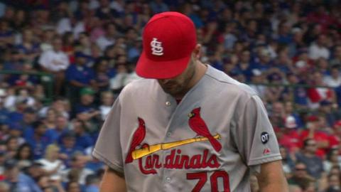 STL@CHC: Lyons escapes bases-loaded jam in 4th