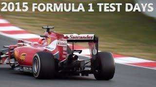 Formula 1 (F1) 2015 Sound! Ferrari Vs Mclaren Vs Mercedes Vs Redbull