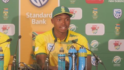 Proteas go 1-0 up T20 Series as Ngidi stars on debut