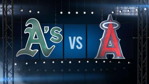 9/30/15: A's come from behind to snap losing skid