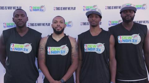 Dew NBA 3X Washington DC: Men's My Journey