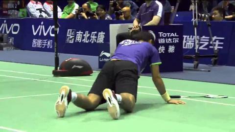 China vs Thailand   Day 3 - VIVO BWF Sudirman Cup 2015