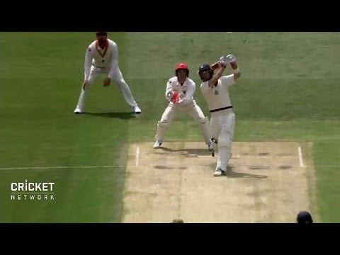 Glenn Maxwell finds touch before strange wicket