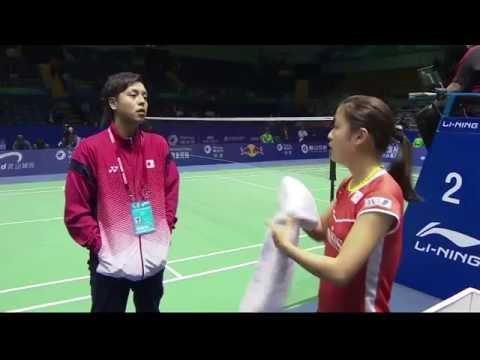 TOTAL BWF Thomas & Uber Cup Finals 2016 | Badminton Day 2/S3-Uber Cup Grp D- JAP vs GER (Court 2)