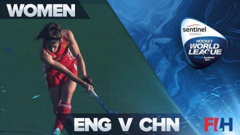England v China Match Highlights - Sentinel Homes Hockey World League Final - Auckland, New Zealand