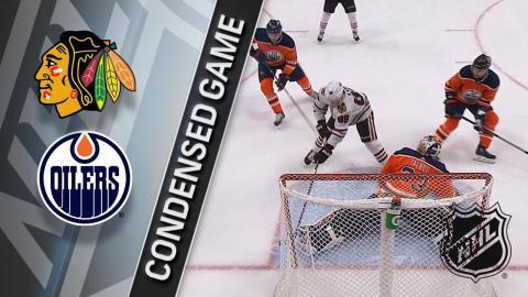 12/29/17 Condensed Game: Blackhawks @ Oilers