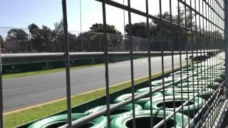 Pastor Maldonado's Crash - 2015 Formula 1 Australian Grand Prix