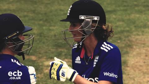The best of Charlotte Edwards 2015/16: We Are England Cricket Fan Award