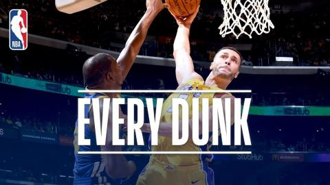 Larry Nance Jr., Jayson Tatum, and Every Dunk From Monday Night | December 18, 2017