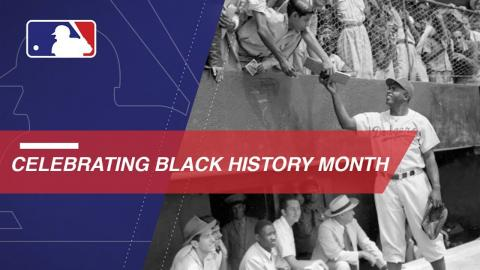 Major League Baseball celebrates Black History Month