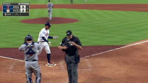 MIN@HOU: Springer belts a solo homer in the 5th