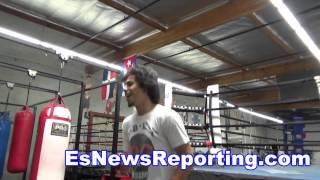 Andy Ruiz On Mayweather Win Over Pacquiao - EsNews Boxing