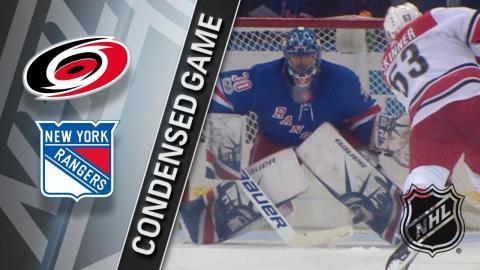 12/01/17 Condensed Game: Hurricanes @ Rangers