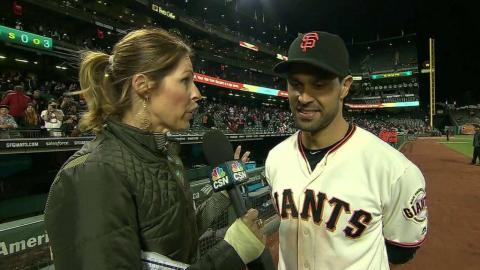 MIL@SF: Pagan discusses the Giants' 3-2 win