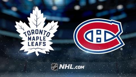 Andersen, Matthews lead Leafs past Habs, 6-0