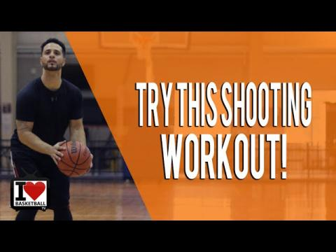 TRY THIS! New Basketball Shooting Workout If You're Struggling With Your Jump Shot!