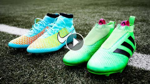 wholesale dealer c0f6c 906af Boot Battle  Nike Magista Obra vs Adidas ACE16+ Purecontrol - Test   Review