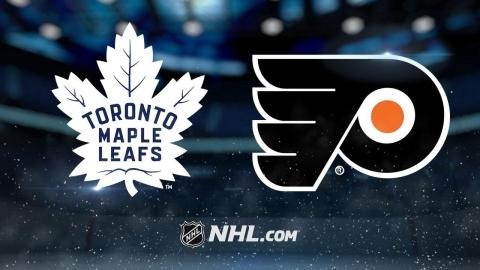 Couturier scores late goal as Flyers beat Maple Leafs