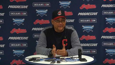 TB@CLE: Francona discusses the loss to the Rays