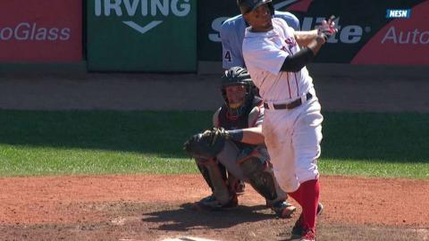 DET@BOS: Bogaerts hits solo jack over Green Monster