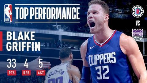 Blake Griffin Hits Game-Winner, Scores Season-High 33 Points | November 25, 2017