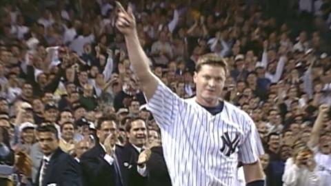 1998ALDS Gm2: Spencer's homer is first hit of game
