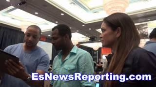 Shane Mosley Meets The MVP Motivator - Esnews Boxing