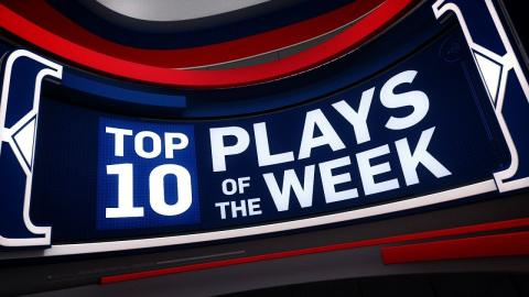 Top 10 Plays of the Week: 11/13/16 -11/19/16