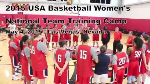 Behind the Scenes: 2015 USA Women's National Team Mini-Camp Day 1
