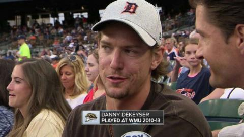 KC@DET: DeKeyser talks about Tigers, Wings' offseason