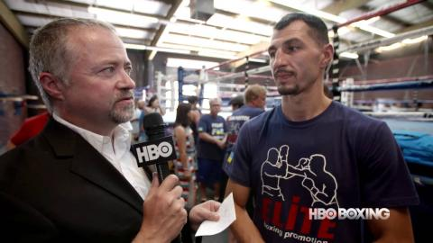 HBO Boxing News: Viktor Postol Interview (HBO)