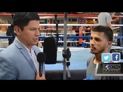 RAY FLORES TALKS TO CHRIS AVALOS PRE-FIGHT