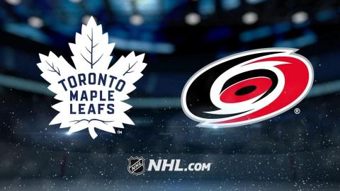 Andersen, Leafs hang on to beat Hurricanes, 5-4
