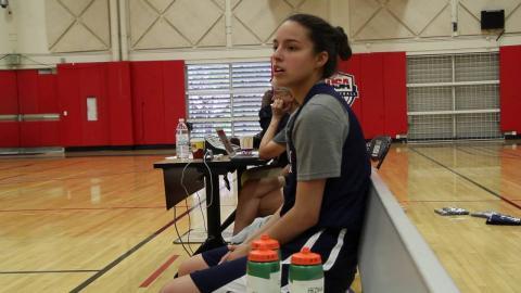 USA 3x3 U18 World Championship Team Captain Amber Ramirez