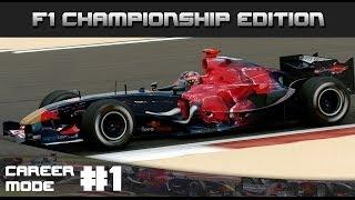 Formula One Championship Edition Career Mode - Round 1 Bahrain Grand Prix