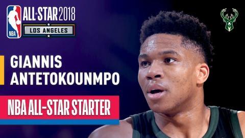 Giannis Antetokounmpo 2018 All-Star Starter | Best Highlights 2017-2018