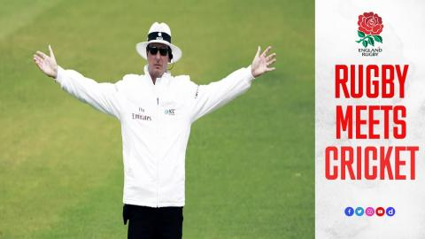 Rugby meets cricket: match referees compare officiating