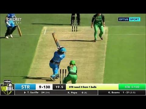 Adelaide Strikers v Melbourne Stars, WBBL|03