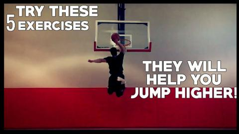 INCREASE VERTICAL JUMP TODAY With These 5 Exercises!