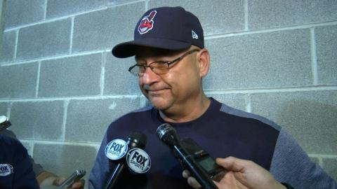CLE@CWS: Francona discusses walk-off loss