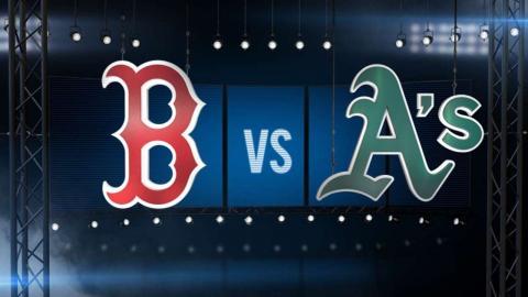 9/2/16: Big bats help Red Sox overpower A's, 16-2