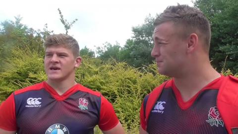 Player Diary: Will Stuart and Jack Willis